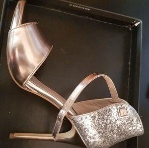 ShoeMint Size 9 Eileen Rosegold Heels